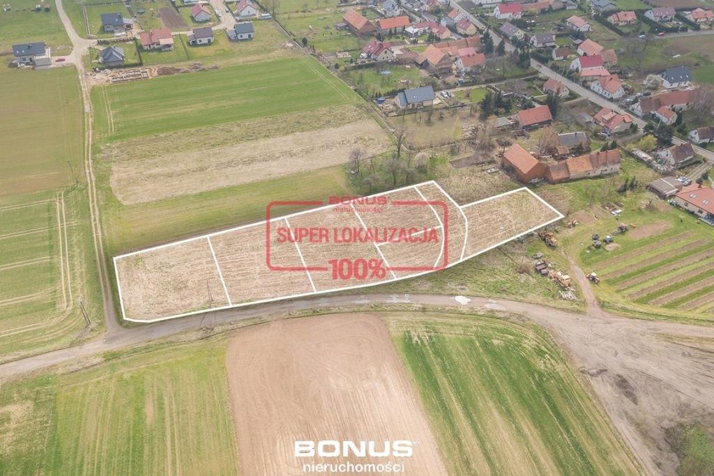 Działka, Gniechowice, 5503 m²