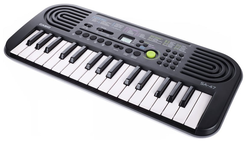 Casio SA-47 Keyboard do nauki dla dzieci 5 lat gw
