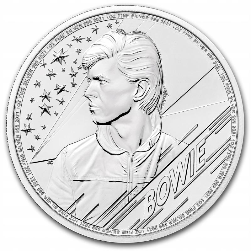 1 oz 2021 David Bowie srebrna moneta