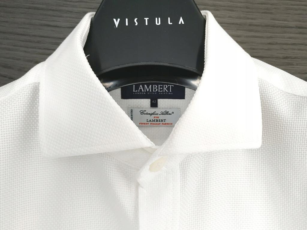 Koszula męska LAMBERT. Jakość Osovski Miler Vistul  aphv4