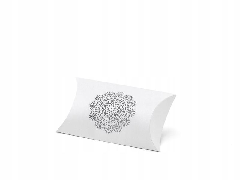 Pudełeczka dla gości białe na wesele 10 szt.
