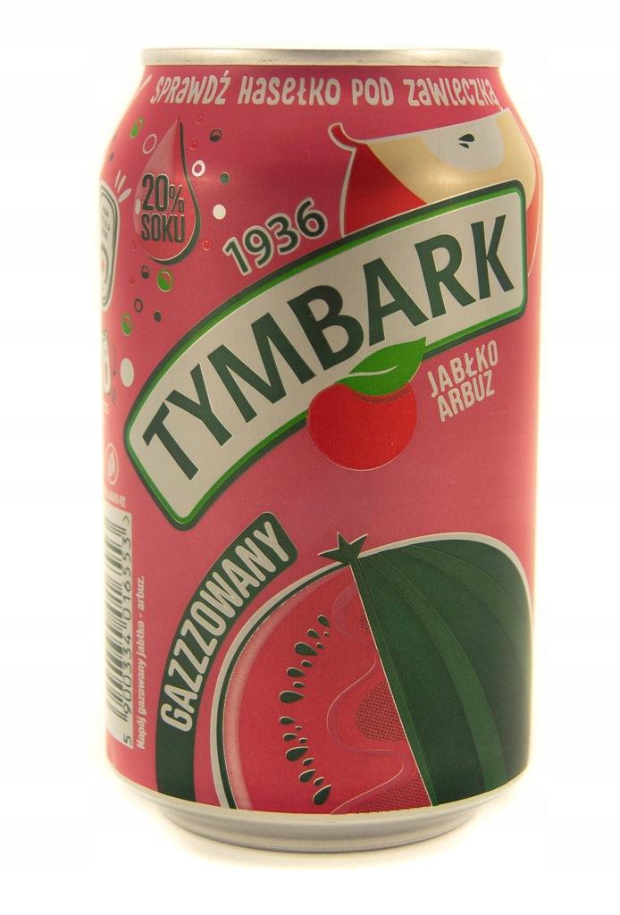 Tymbark Napój gazowany jabłko arbuz 330 ml