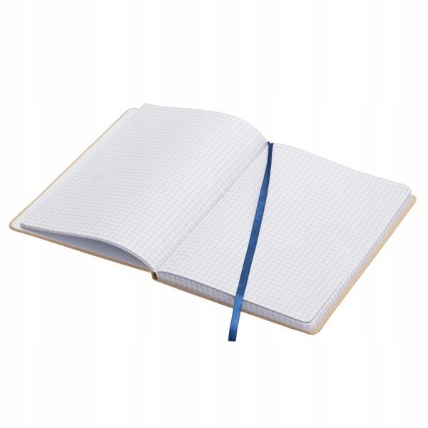 Notatnik 90x140/80k kratka Lisboa Mini, niebieski/