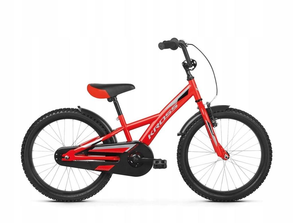 Rowery dziecięce Kross Racer 5.0 Czerwony 20''