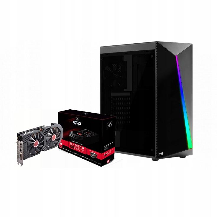 Komputer Do Gier QUAD i5 8GB 120SSD+500GB RX580 8G
