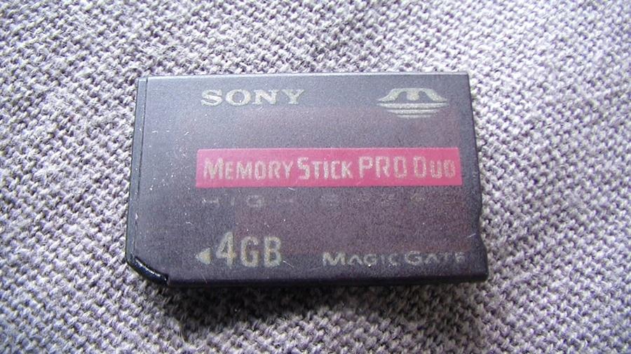 Karta pamięci MSProDuo do PSP ---4GB---