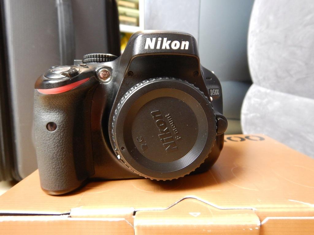 Lustrzanka Nikon D5100 + Sigma 18-200 + akcesoria