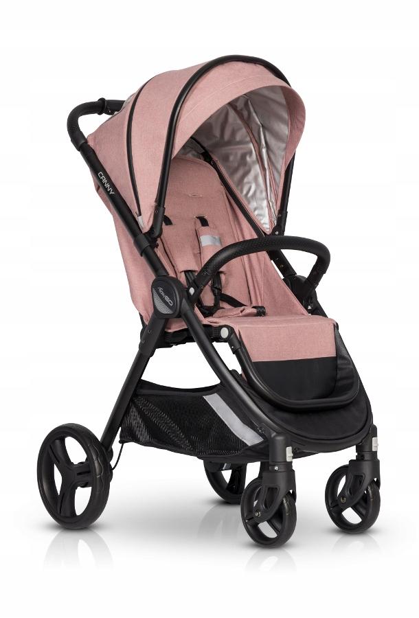 EasyGo Canny Rose wózek dziecięcy spacerówka róż