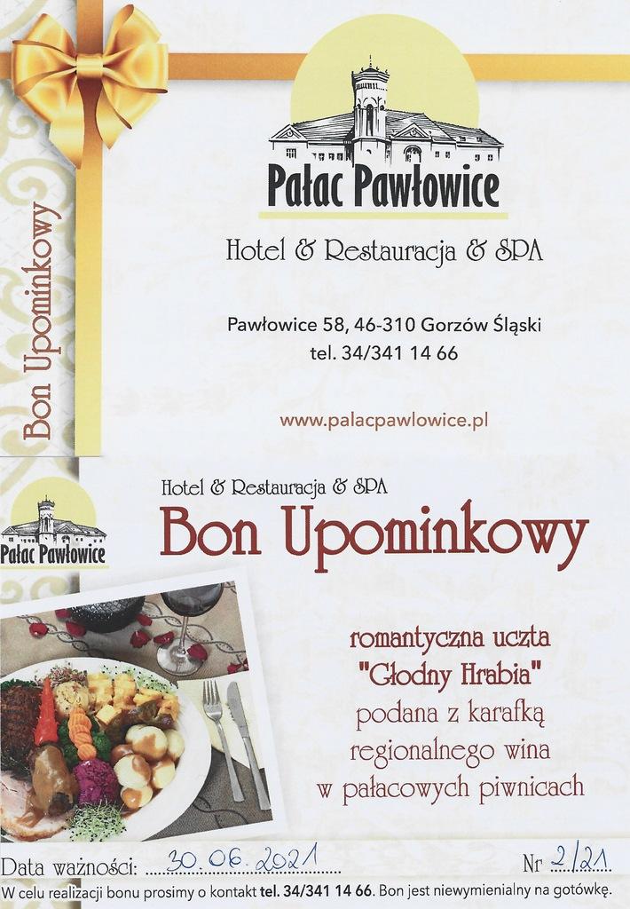 Bon Upominkowy Pałac Pawłowice 2/21