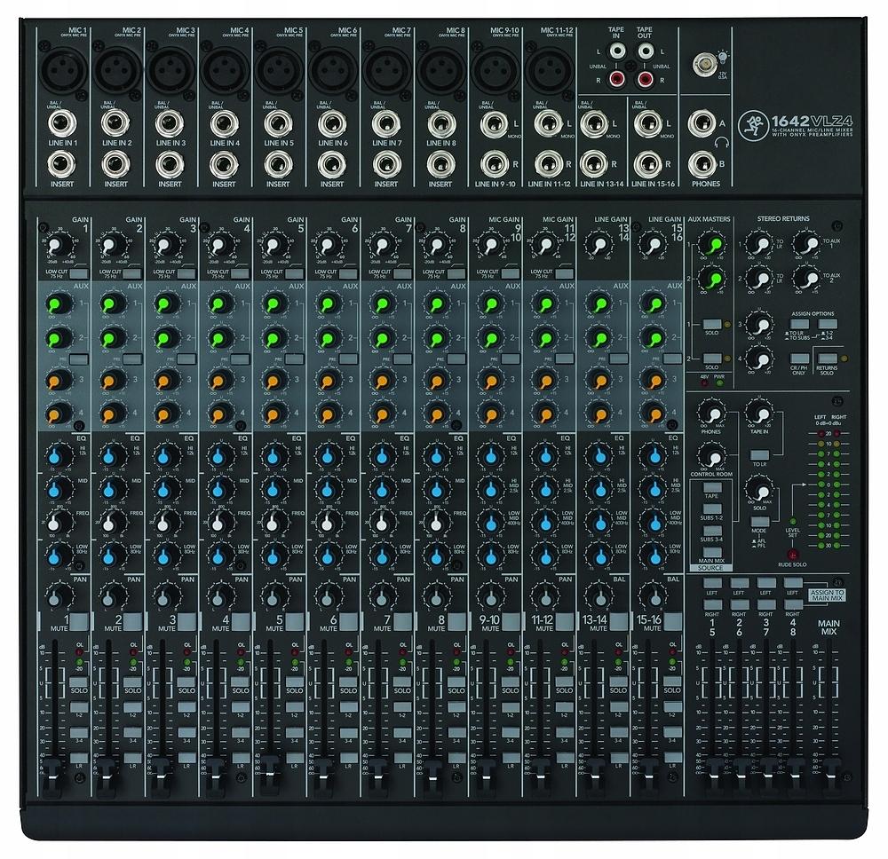 MACKIE 1642 VLZ 4 - mikser dźwięku