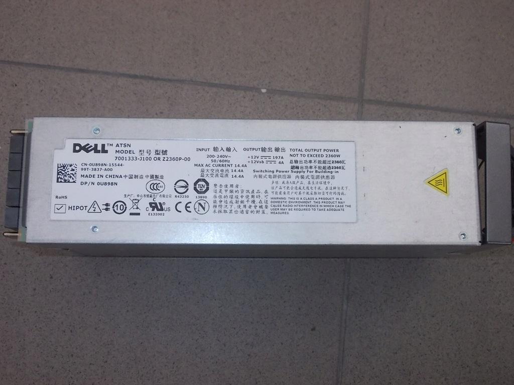 Zasilacz serwerowy Dell ATSN Z2360P-00