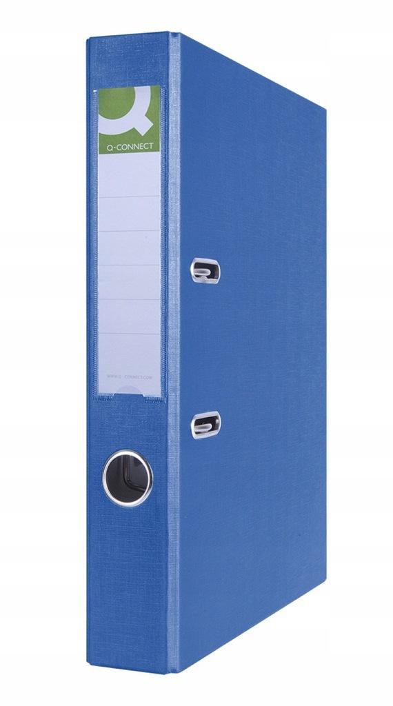 Segregator Hero PP A4/55mm niebieski dźwigniowy