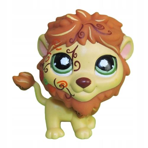figurka kot lwiątko LEW #944 Littlest Pet Shop LPS