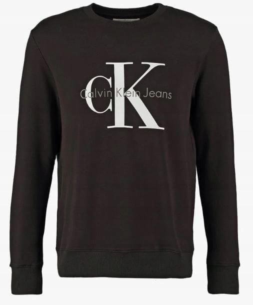 Bluza Męska Calvin Klein; Ciemny Szary; S