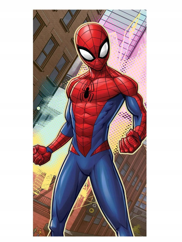 Ręcznik bawełniany 70x140 Spiderman 034