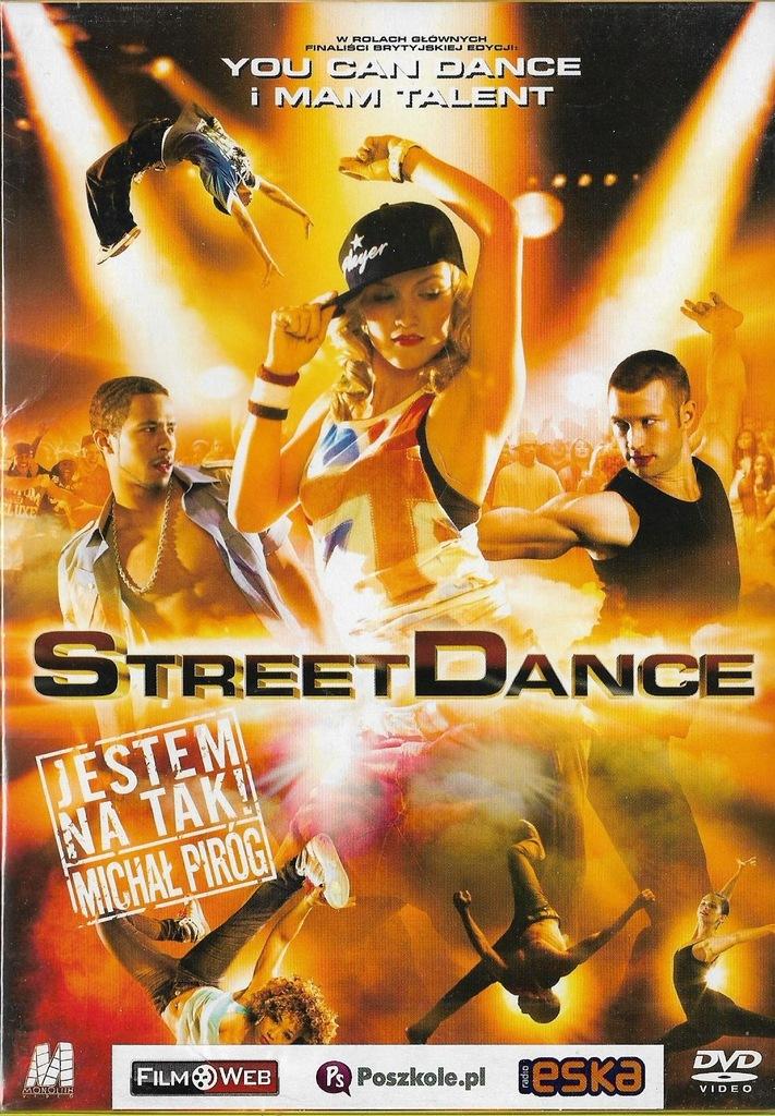 Street Dance DVD NOWY folia