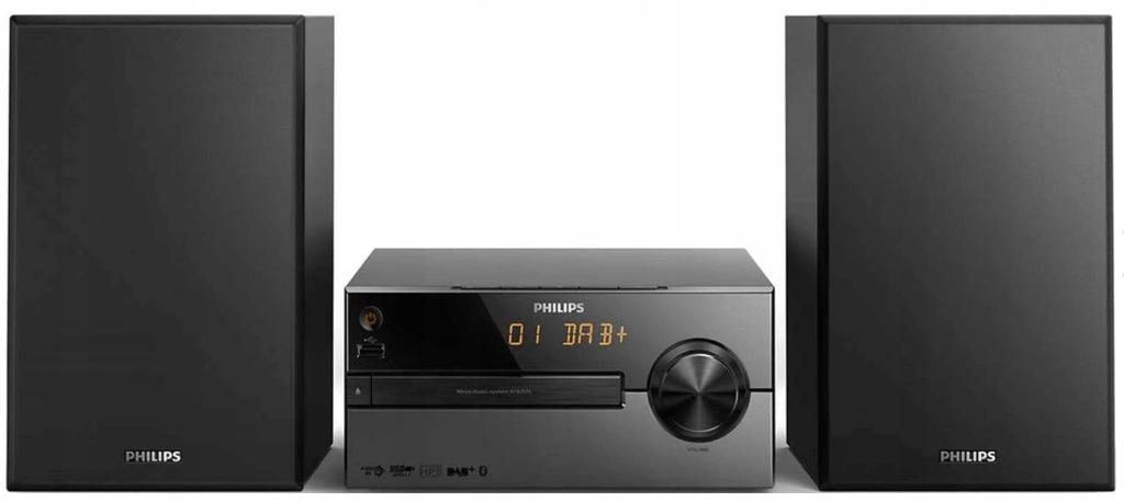 Philips BTB2515/12 Stereo System Black