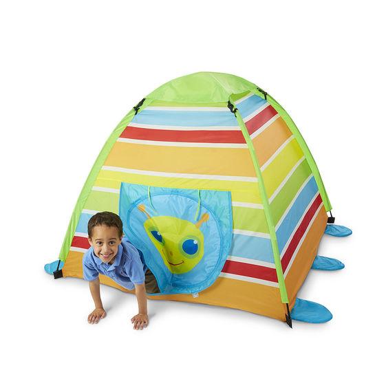 Duży, kolorowy namiot wesoły robaczek 150x150 7348842328