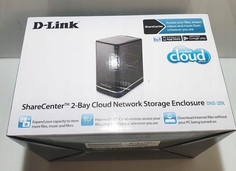 D-LINK DNS-320L SIECIOWY SERWER PLIKÓW
