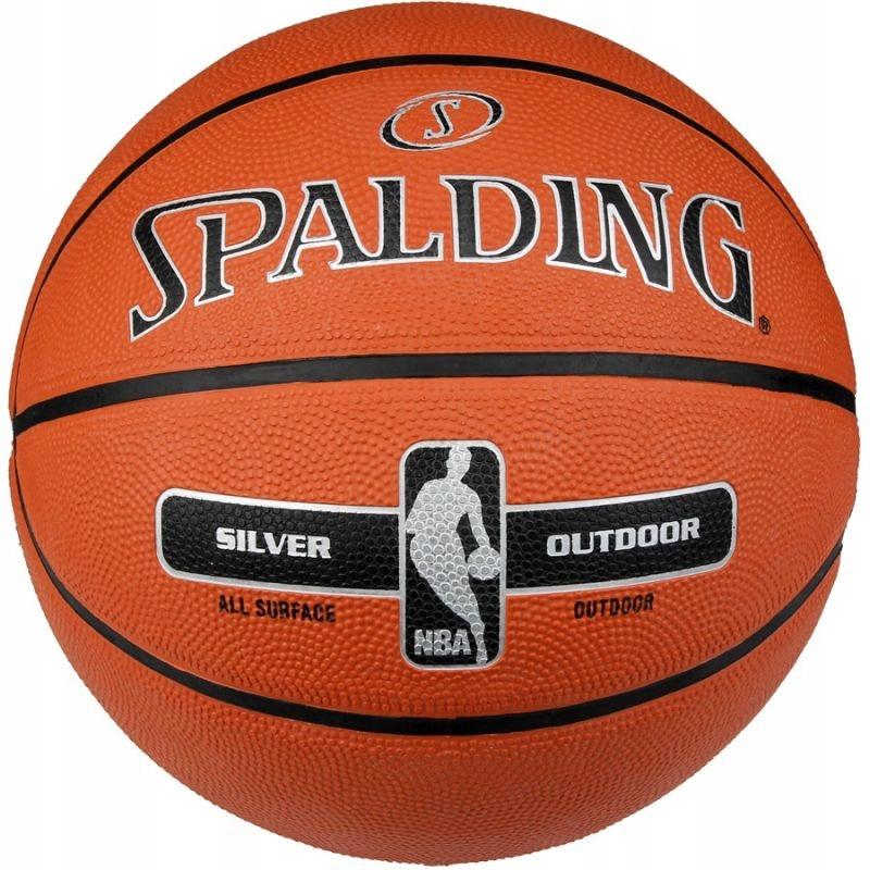 Piłka do koszykówki Spalding NBA Silver