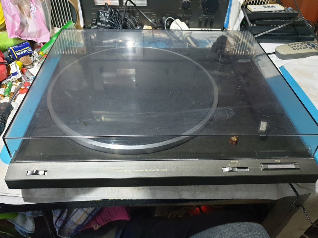 TECHNICS SL-B210 gramofon stereo vintage