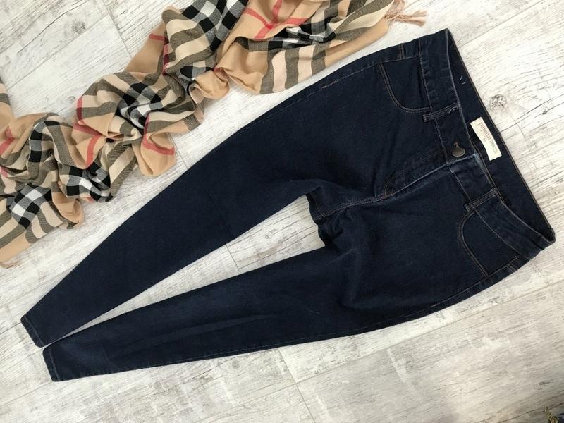 PAPAYA skinny SPODNIE jeans rurki stretch__38 M