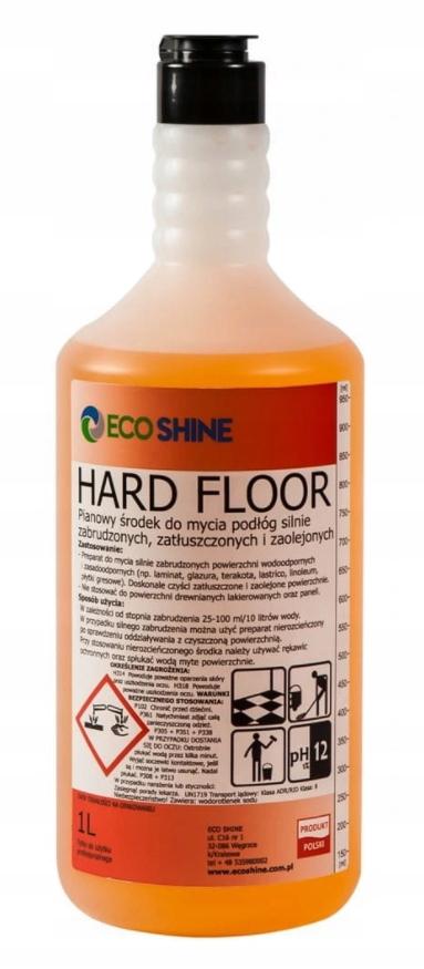 Eco Shine HARD FLOOR do podłóg mocno zabrudzonych