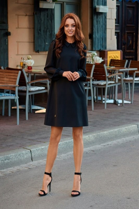 Sukienka L265 czarny - Lemoniade