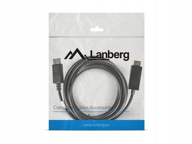 Kabel DisplayPort - HDMI M/M 3M czarny