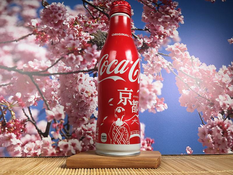 Limitowana Coca-Cola Kyoto Daimonji JAPAN ALU