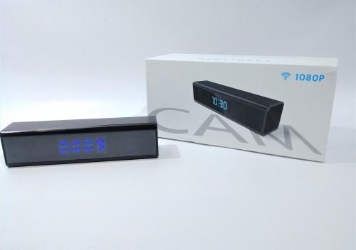 Mini kamera IP budzik WIFI Zegar IP30W