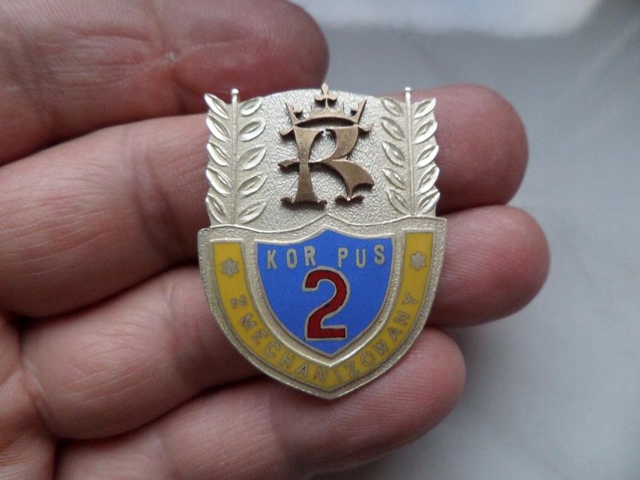 Odznaka 2 Korpus Zmechanizowany - KRAKÓW