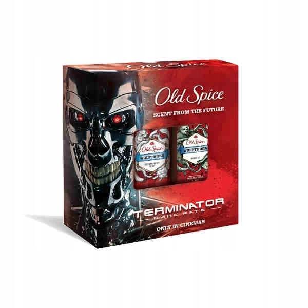 Old Spice zestaw Wolfthorn Terminator deo i żel