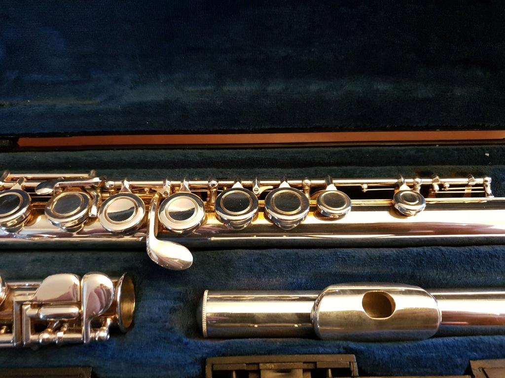 flet poprzeczny BUFFET Cooper 6000 bardzo ładny!