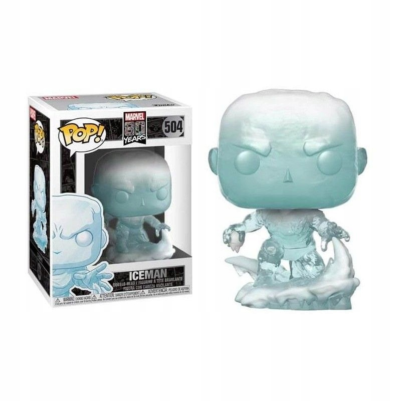 Figurka Funko Marvel 80th POP! - Iceman