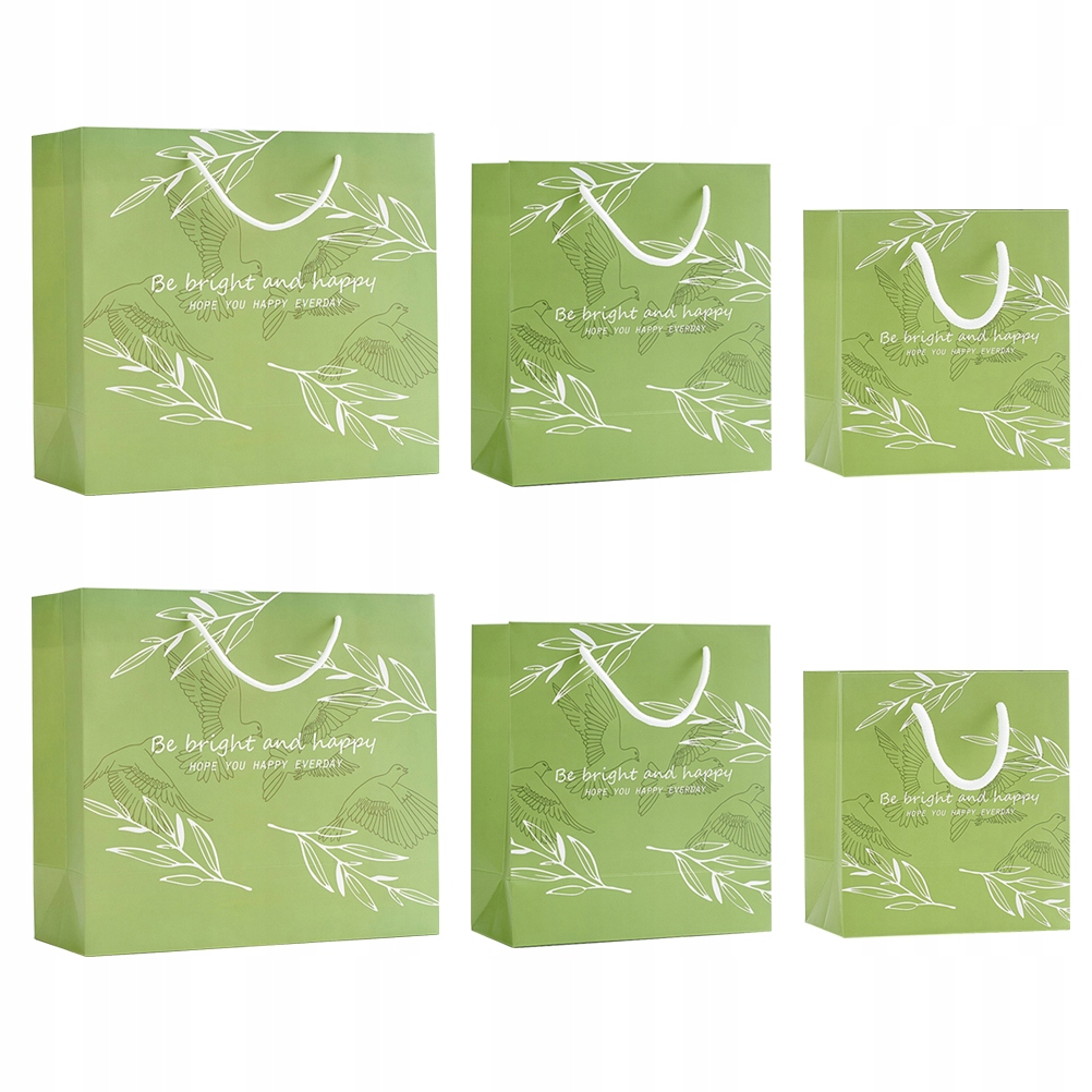 6 sztuk Produktna świeża torba na prezenty Torba d