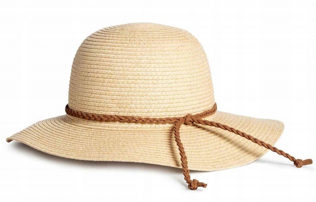 H&M cudny słomkowy kapelusz lato NOWY 110/116