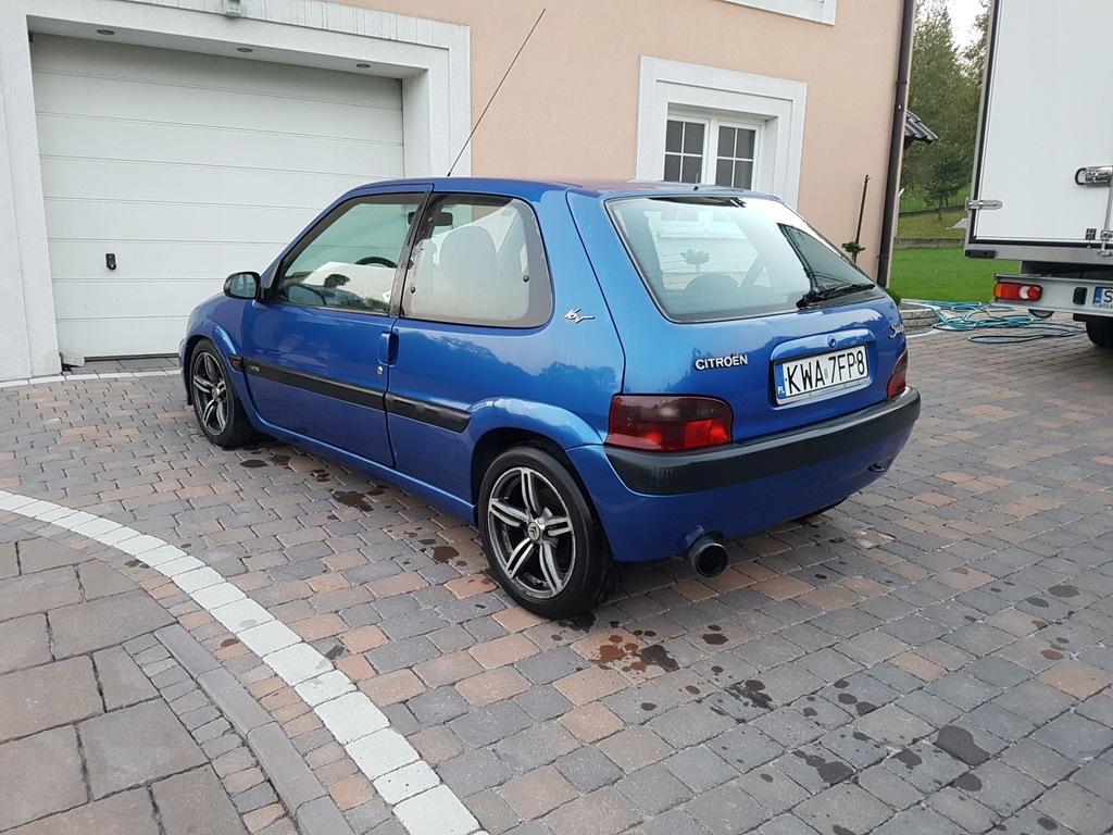 Citroen Saxo 1 6 Vts 7892551302 Oficjalne Archiwum Allegro