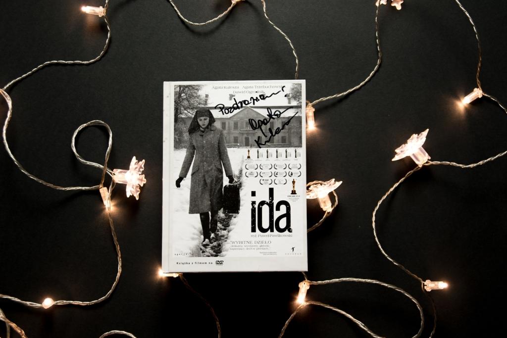 """Film ,,Ida"""" z autografem Agaty Kuleszy"""