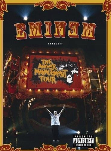 DVD Eminem Anger Management