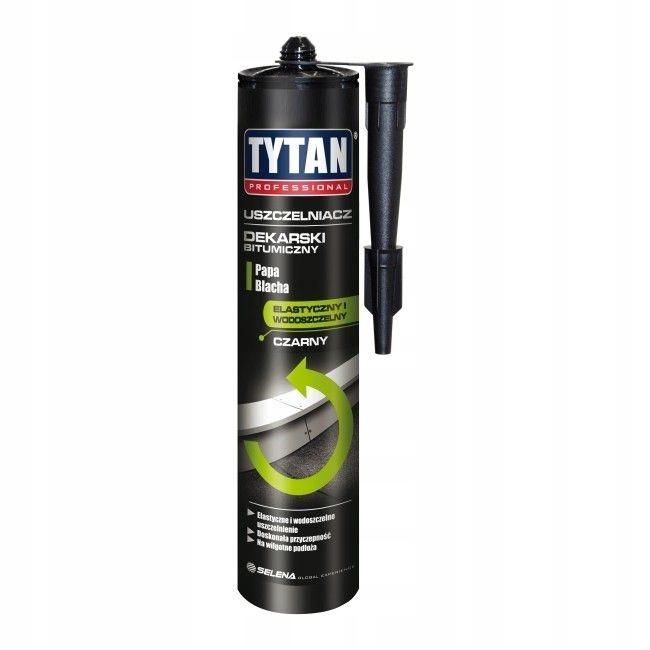 Uszczelniacz dekarski Tytan 310 ml czarny