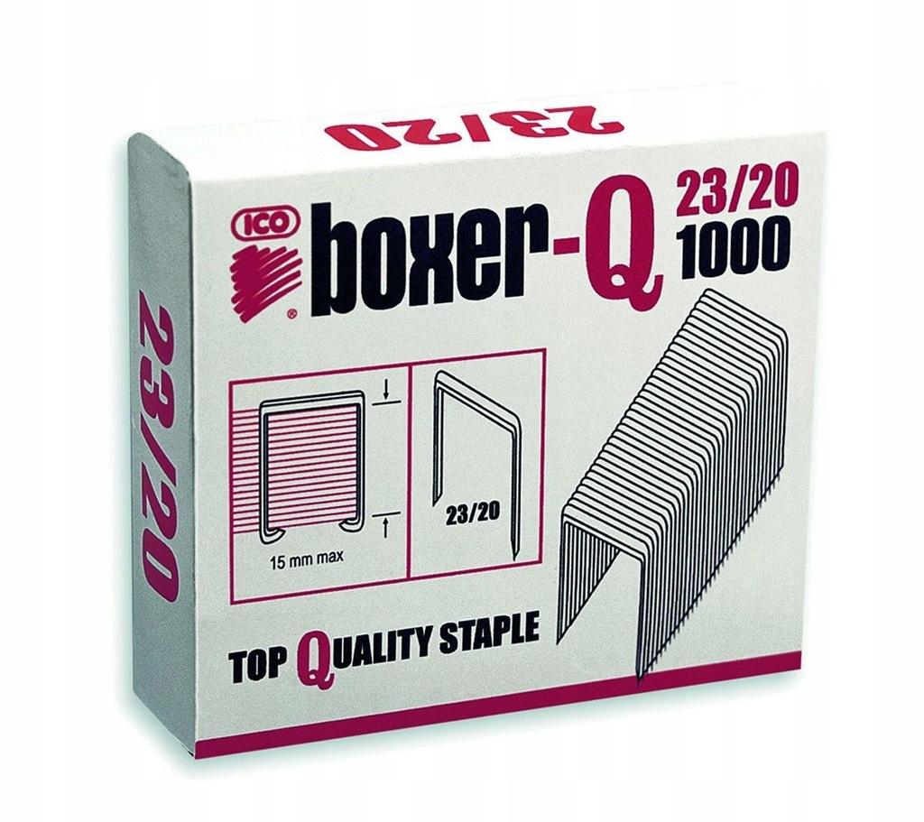 Zszywki ICO Boxer 23/20, 1000szt. do 160 kartek