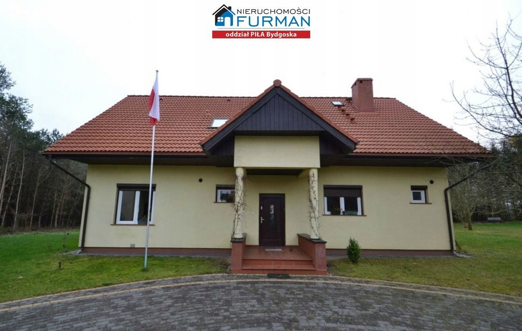 Dom, Nakielno, Wałcz (gm.), Wałecki (pow.), 182 m²
