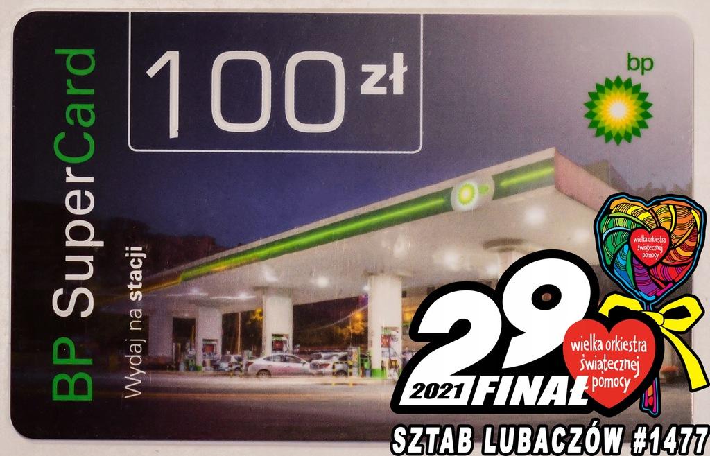 Karta podarunkowa BP o wartości 100zł - #1477