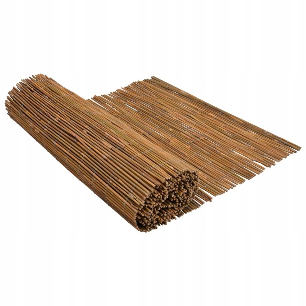 Mata ogrodzeniowa z bambusa, 500x150 cm