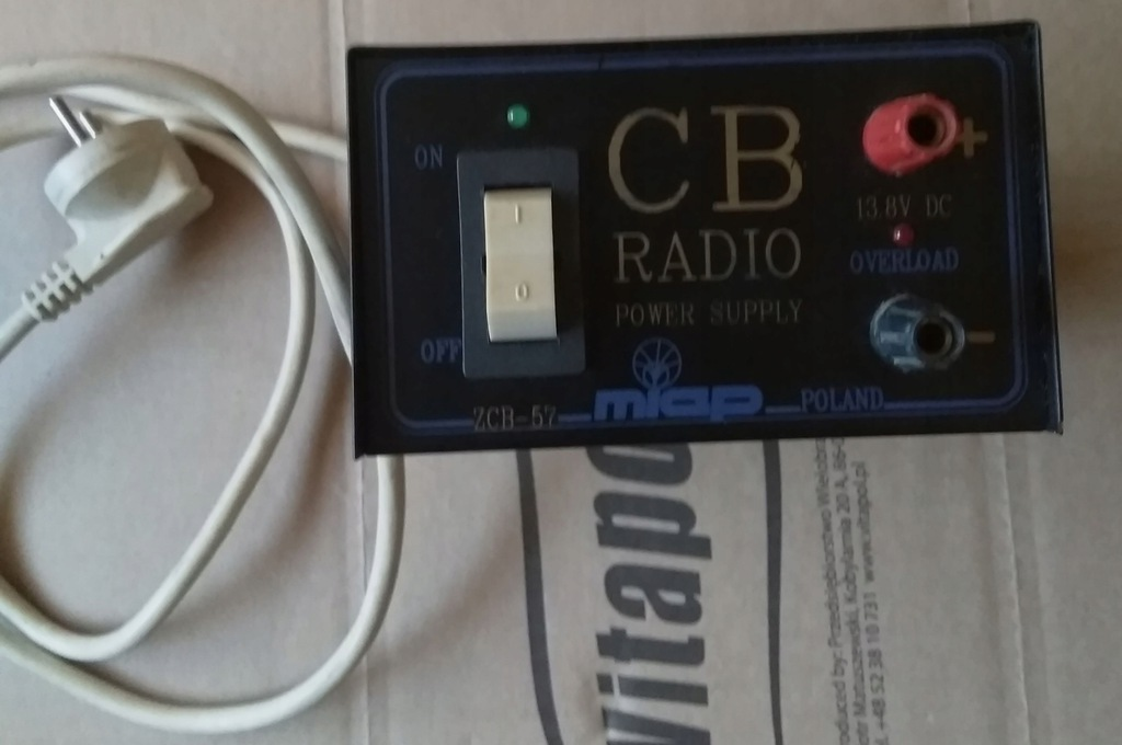 Zasilacz CB RADIA MIAP ZCB-57 220V 50W