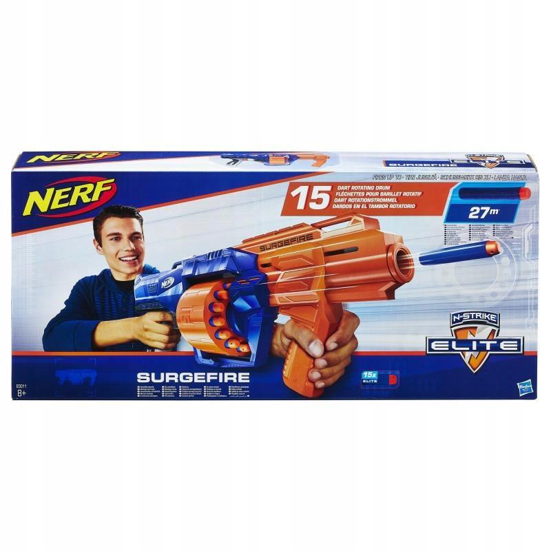 NERF N-STRIKE SURGEFIRE 15-STRZAŁOWYHASBRO
