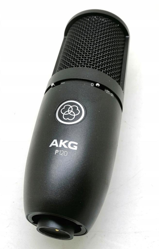 Mikrofon pojemnościowy AKG P120