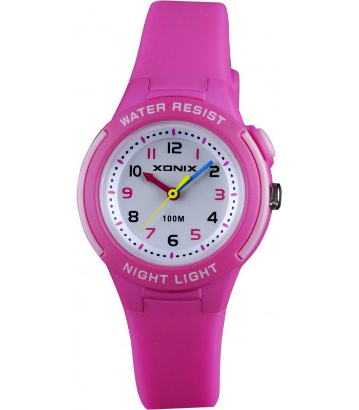 Zegarek DZIECIĘCY dla DZIEWCZYNY Xonix CZYTELNY OP