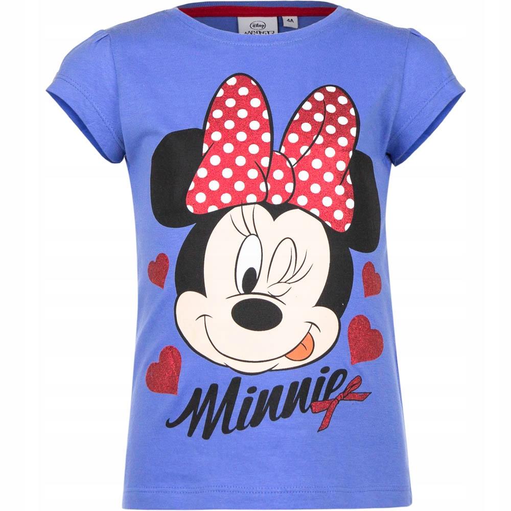T-shirt krótki rękaw 104 cm MYSZKA MINNIE 4 lata